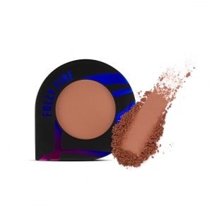Face pigment with swatch